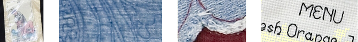 Sections of Quilt Panels